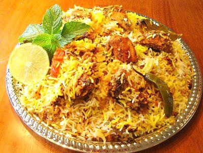 Chicken (fry) Biryani