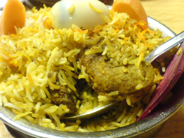 Spl. Chicken Biryani