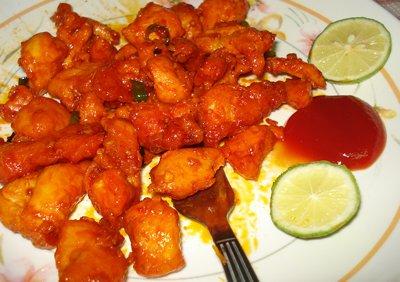 Non Veg Chilli Chicken