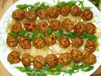 Chicken Keema Balls