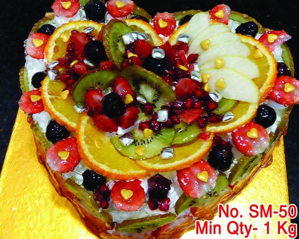 fruit cake cold cake