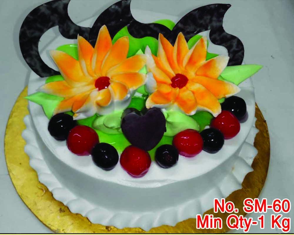 vanilla cold cake